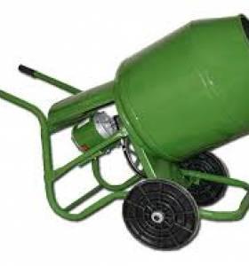 Hormigonera 130 litros motor 3/4 hp